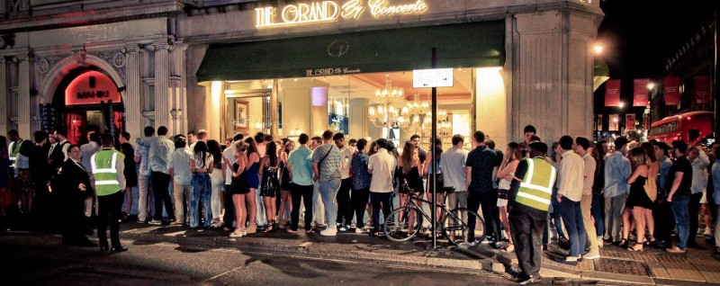 Nightclubs entry policy rules London