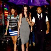 Kendall Jenner at The Box Soho